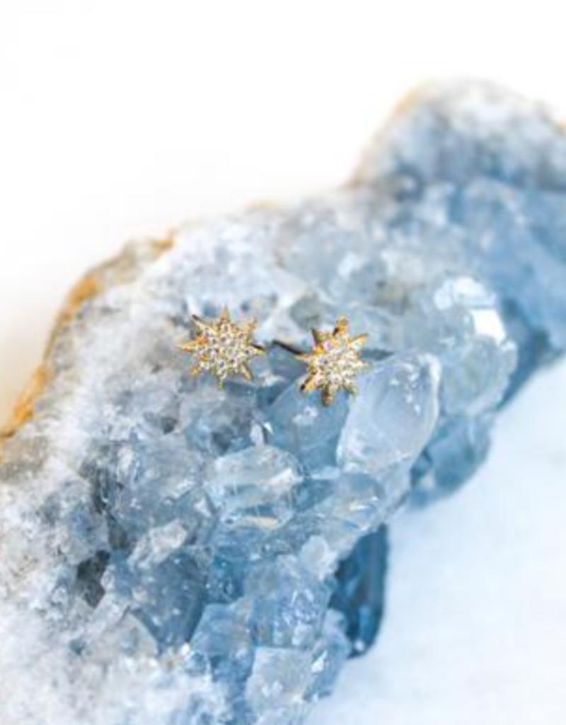 ace starburst post earrings