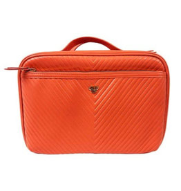PurseN orange toiletry case