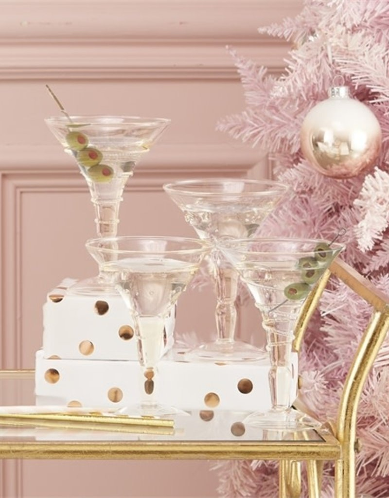two's company verre martini glass