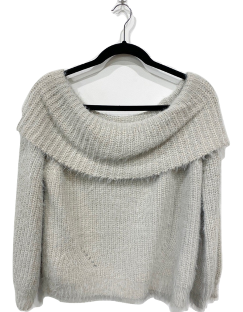 stephanie off shoulder sweater