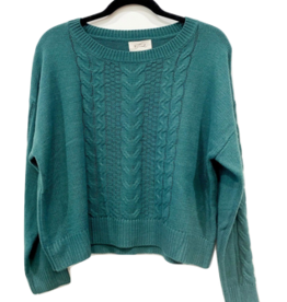 maya cropped sweater