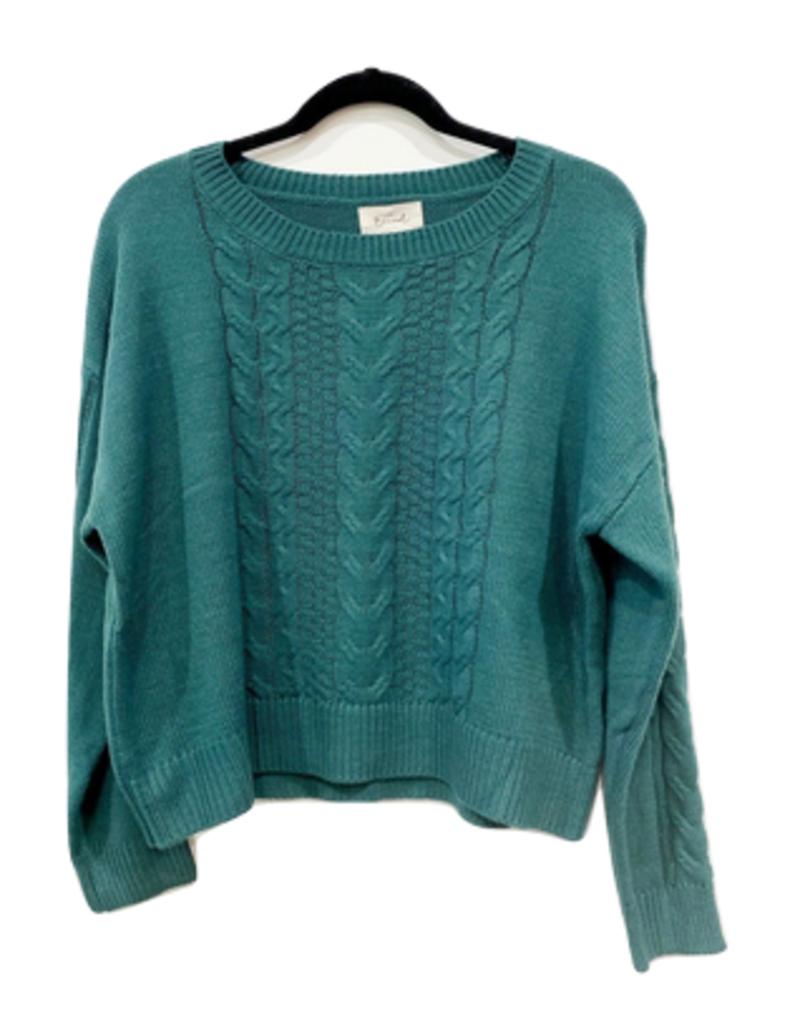 maya cropped sweater