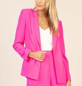 ultra pink blazer