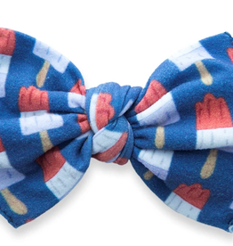 Baby Bling patriotic popscicle printed knot