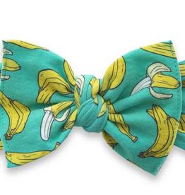 Baby Bling go bananas printed knot