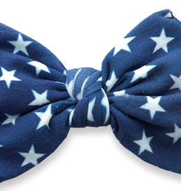 Baby Bling flag printed knot headband