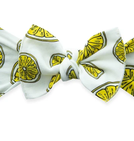 Baby Bling fresh squeeze printed knot headband