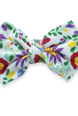 Baby Bling de flores printed knot