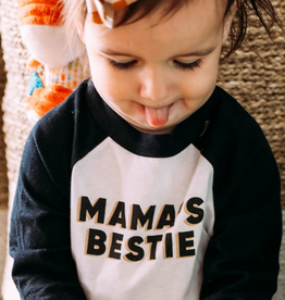 friday + saturday mamas bestie raglan