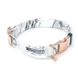 white marble dog collar