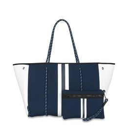 haute shore greyson tote - sailor
