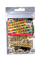 fashion angels tell your story bead bag