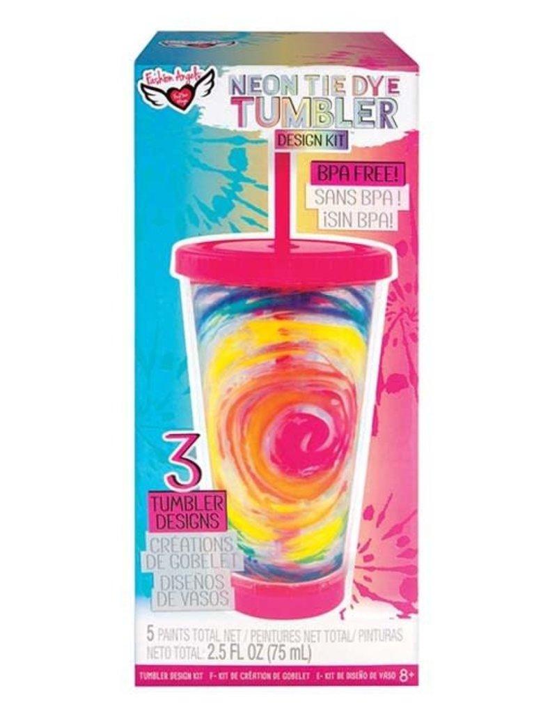 fashion angels neon tie dye tumbler kit