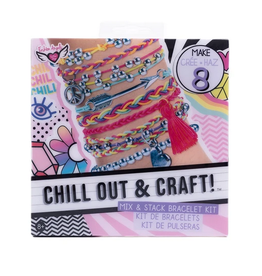 fashion angels chill out & craft mix & stack bracelets
