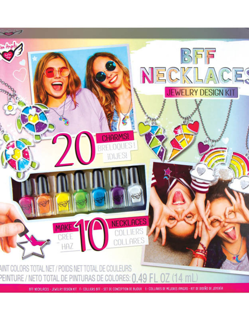 Fashion Angels Bff Necklaces Jewelry Design Kit Stash Apparel And Gifts