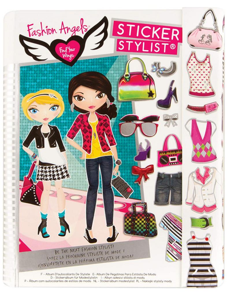 fashion angels fashion sticker stylist