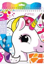 fashion angels crayola creations sticker by number portfolio