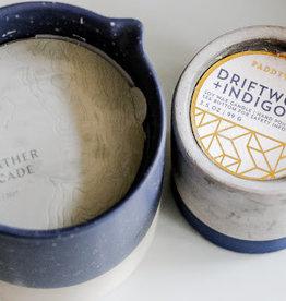 driftwood & indigo candle