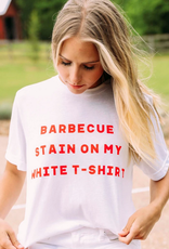 bbq stain tee