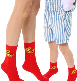 pizza mini+me sock set