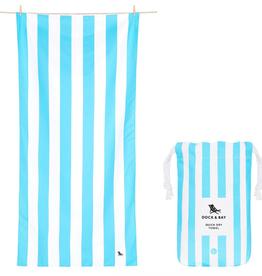 tulum blue quick dry towel