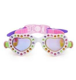 confetti swim goggles
