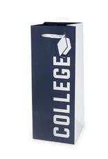 college bottle gift bag FINAL SALE