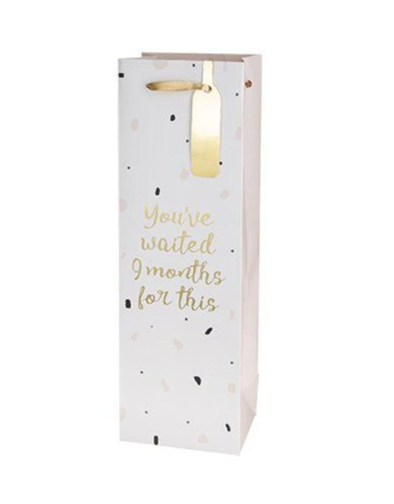 waited 9 months bottle gift bag final sale