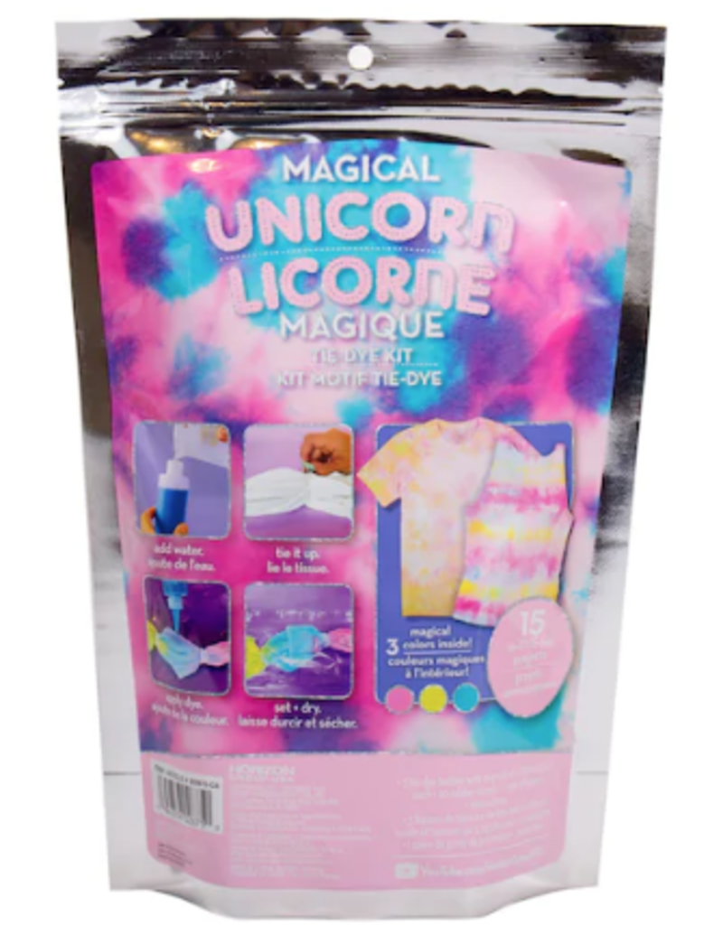 unicorn tie dye kit