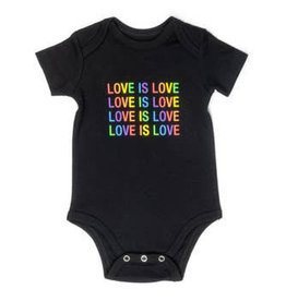 love is love onesie 3-6m
