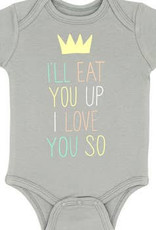 eat you up onesie 3-6m