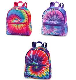 tie dye mini puffer backpack