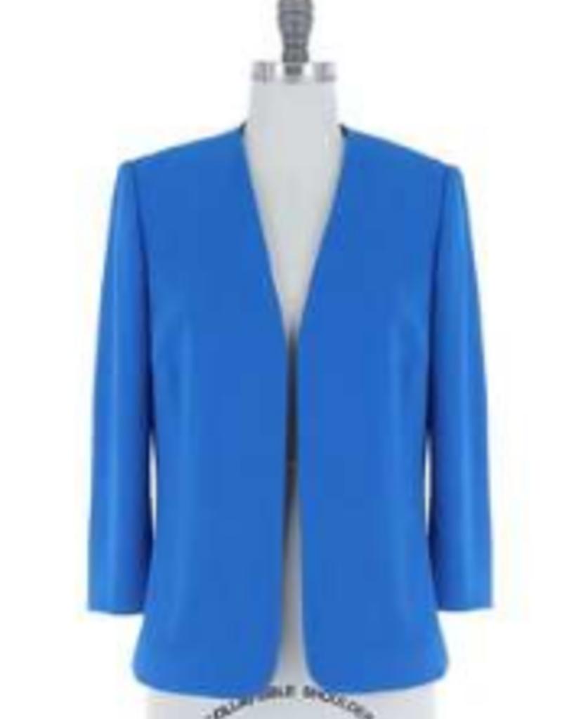 azure blue blazer
