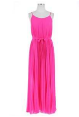 ultra pink maxi dress