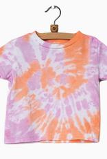 LivyLu kids sherbet swirl tie dye tee final sale