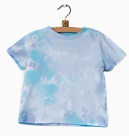 LivyLu kids turquoise dream tie dye tee final sale