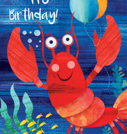 Calypso cards birthday lobster card