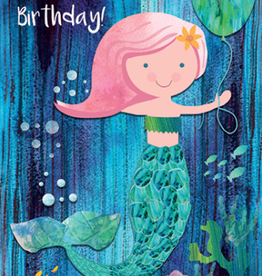 Calypso cards birthday mermaid card