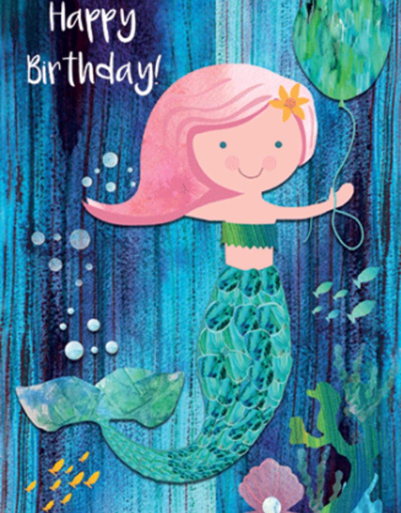 Calypso cards birthday mermaid card