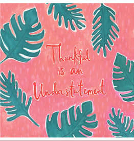 Calypso cards thankful card