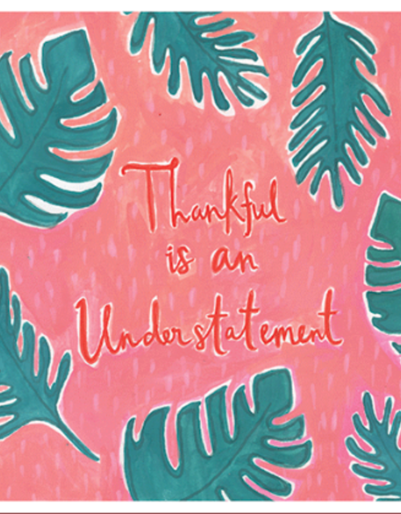 Calypso cards thankful card