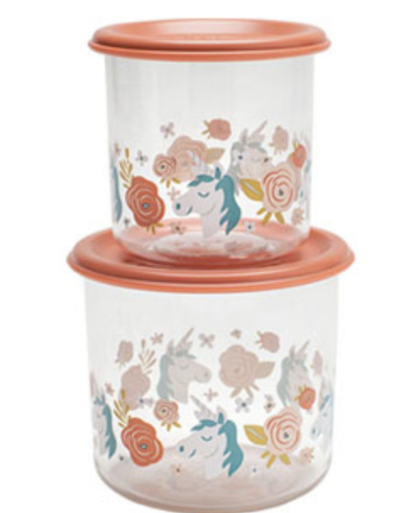 unicorn lunch containers large FINAL SALE