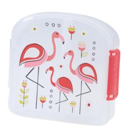 ore originals flamingo lunch sandwich box FINAL SALE