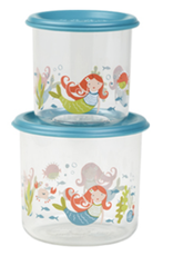 mermaid lunch containers large