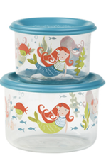 mermaid lunch containers small