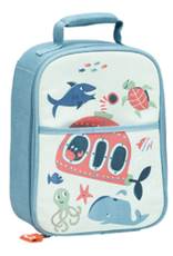 ocean zippee lunch tote