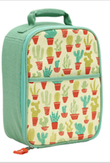happy cactus zippee lunch tote FINAL SALE