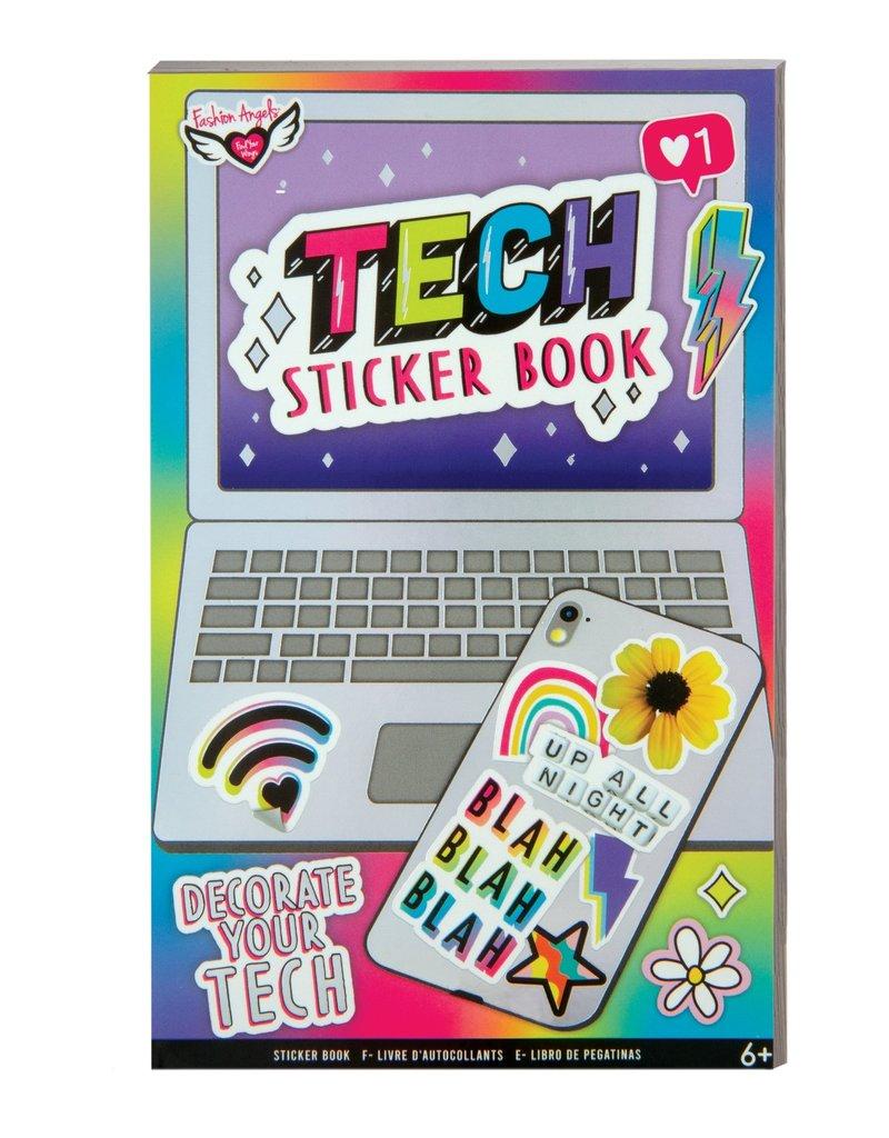fashion angels tech sticker book