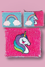 fashion angels unicorn magic sequin reveal pouch