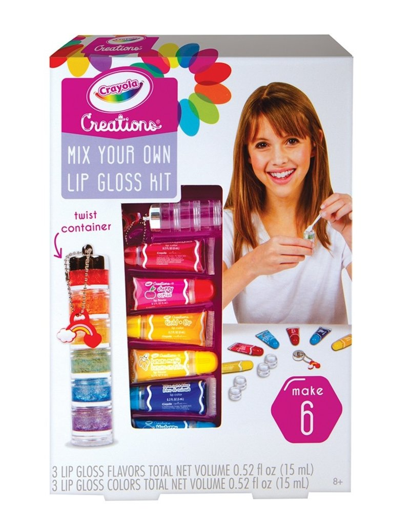 fashion angels rainbow lip gloss maker